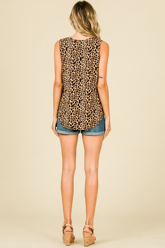 The High Horse Leopard Tank - Ny Texas Style Boutique