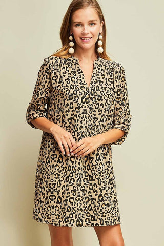 The Shadow People Leopard Dress