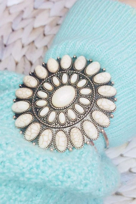 The Tiffany Cuff (White Buffalo) - Ny Texas Style Boutique