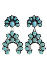 The Honey Pain Turquoise Earrings - Ny Texas Style Boutique