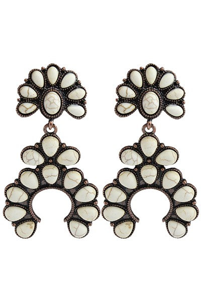 The Lone Wolf Earrings - Ny Texas Style Boutique