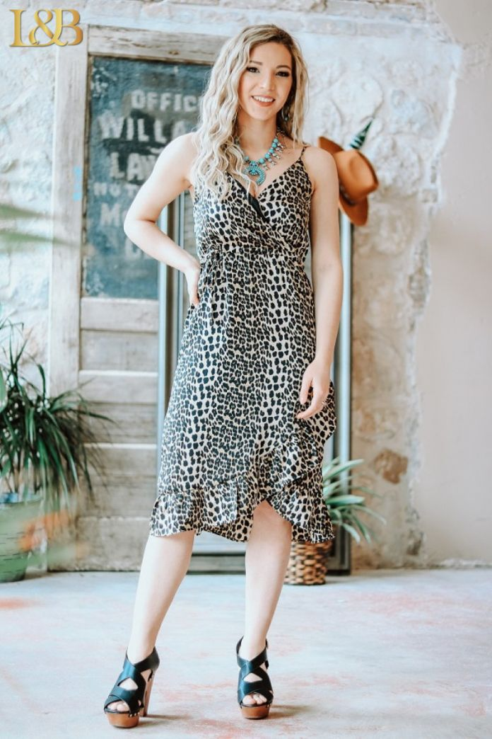 The Kenzie Leopard Dress - Ny Texas Style Boutique