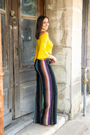 The Go Your Own Way Serape Pants