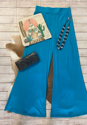 The Jade Palazzo Pant - Ny Texas Style Boutique