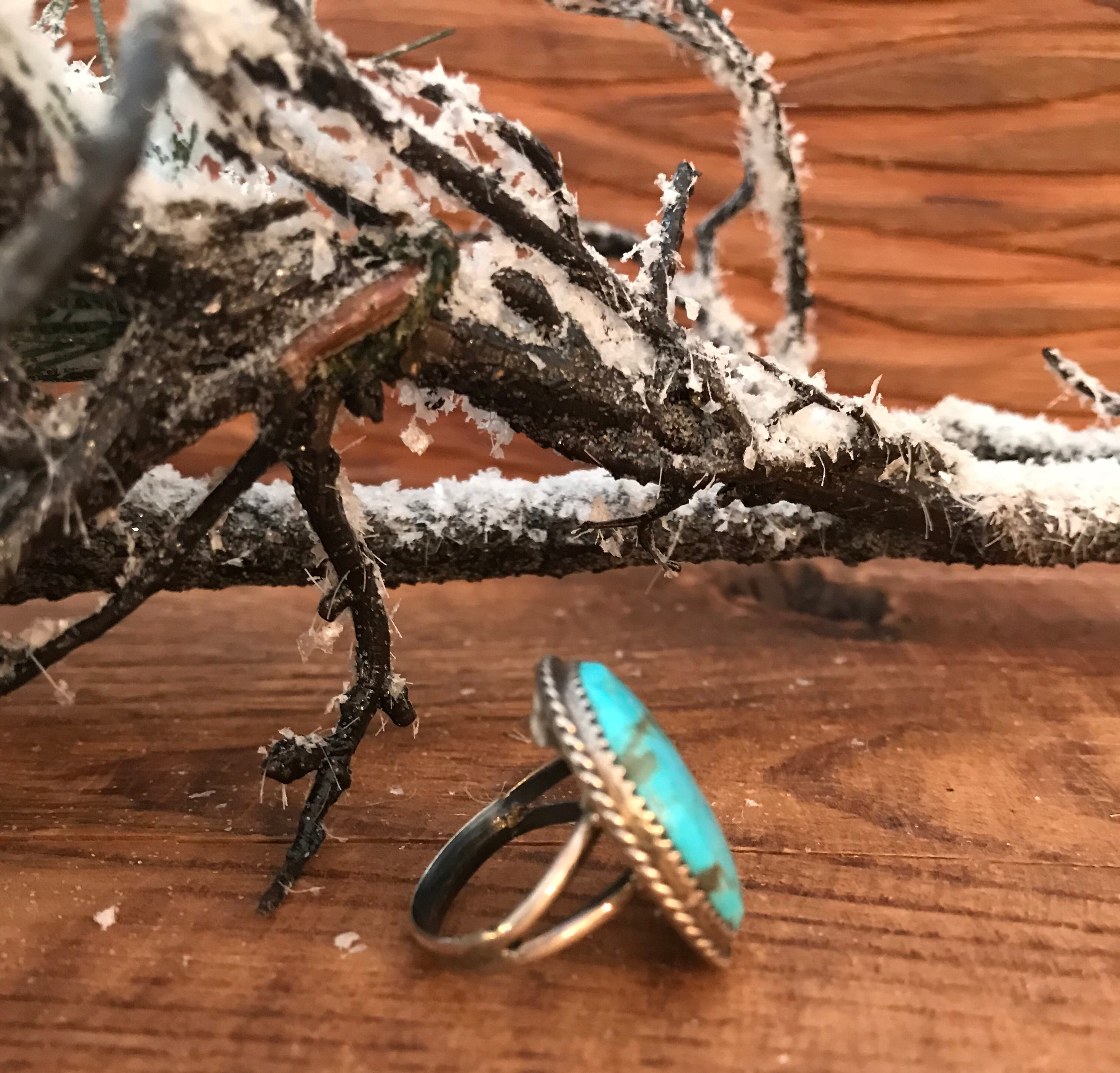 The Loretta Turquoise Ring - Ny Texas Style Boutique