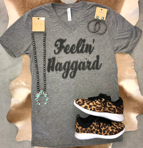 Feelin' Haggard Tee - Ny Texas Style Boutique