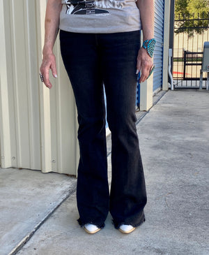 The Stevie Jeans (Black Wash) - Ny Texas Style Boutique