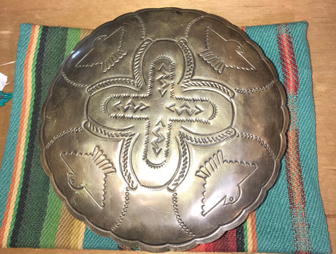 Thunderbird Round Trinket Box - Ny Texas Style Boutique