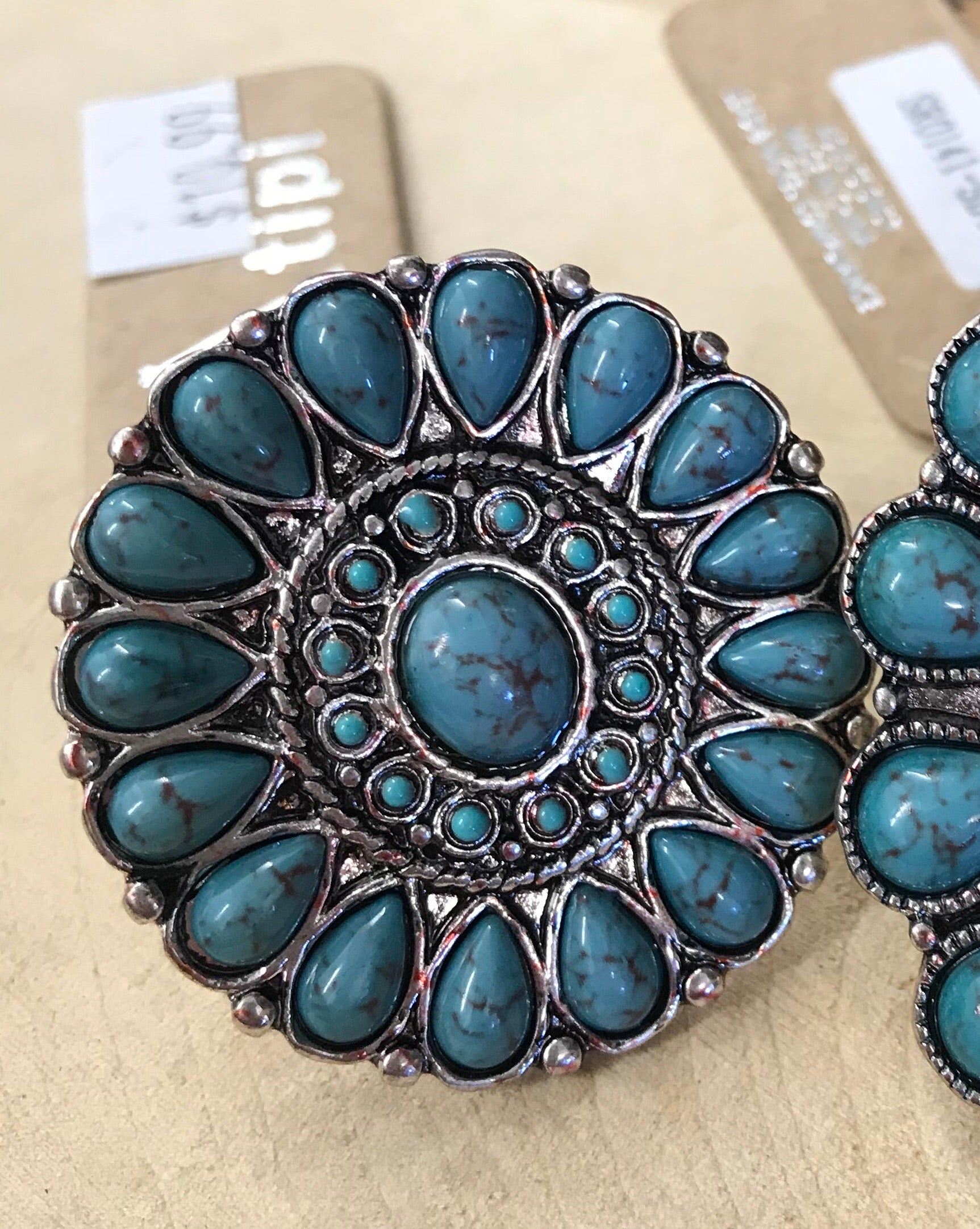 The Erica Turquoise Ring - Ny Texas Style Boutique