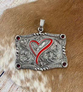 The Heart Pendant - Ny Texas Style Boutique