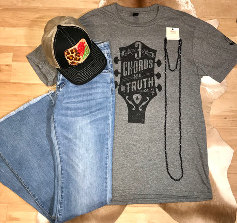 3 Chords & The Truth Tee - Ny Texas Style Boutique