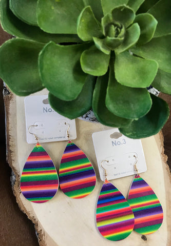 The Serape Earrings - Ny Texas Style Boutique