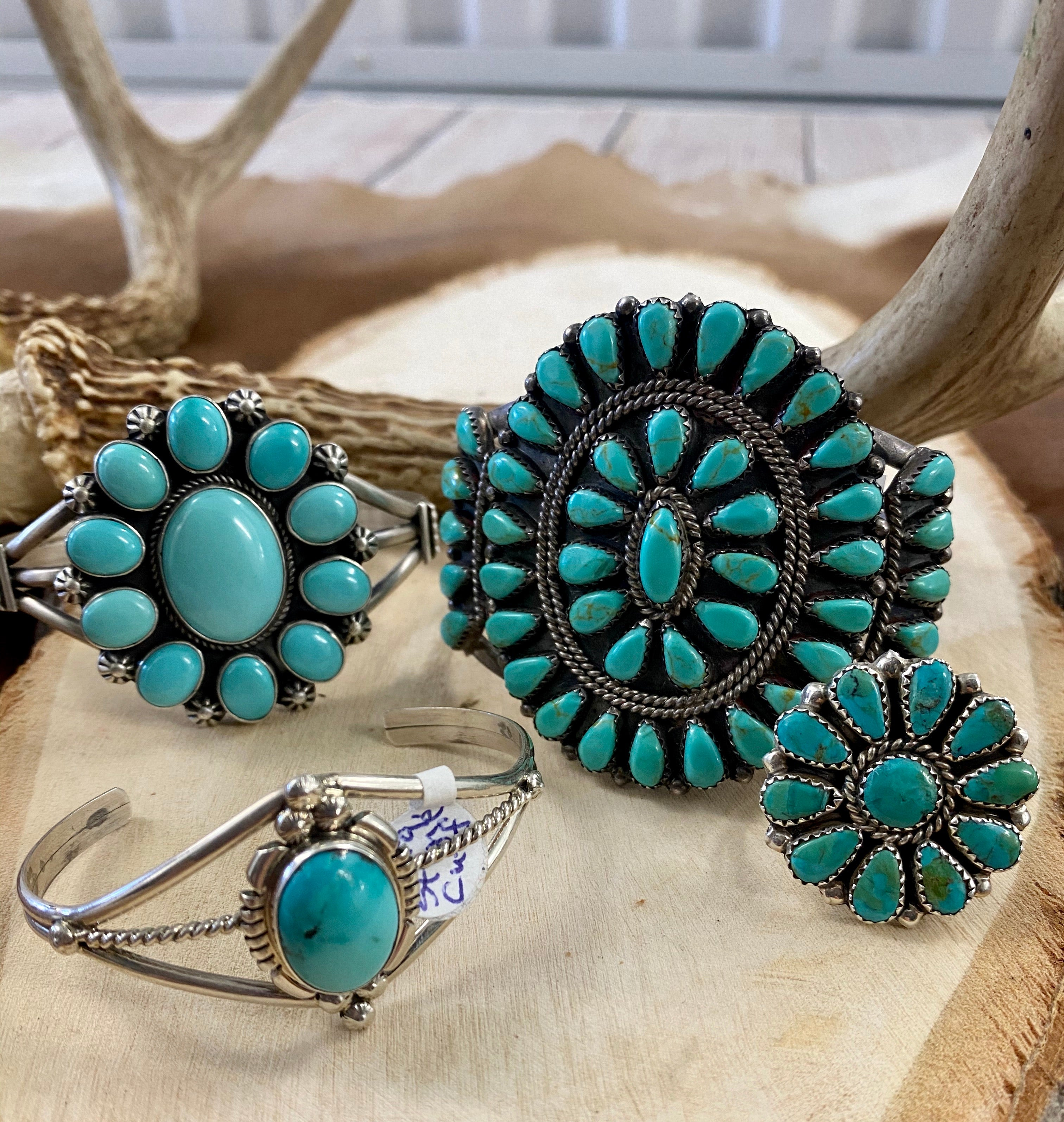 The Lubbock Turquoise Cuff - Ny Texas Style Boutique