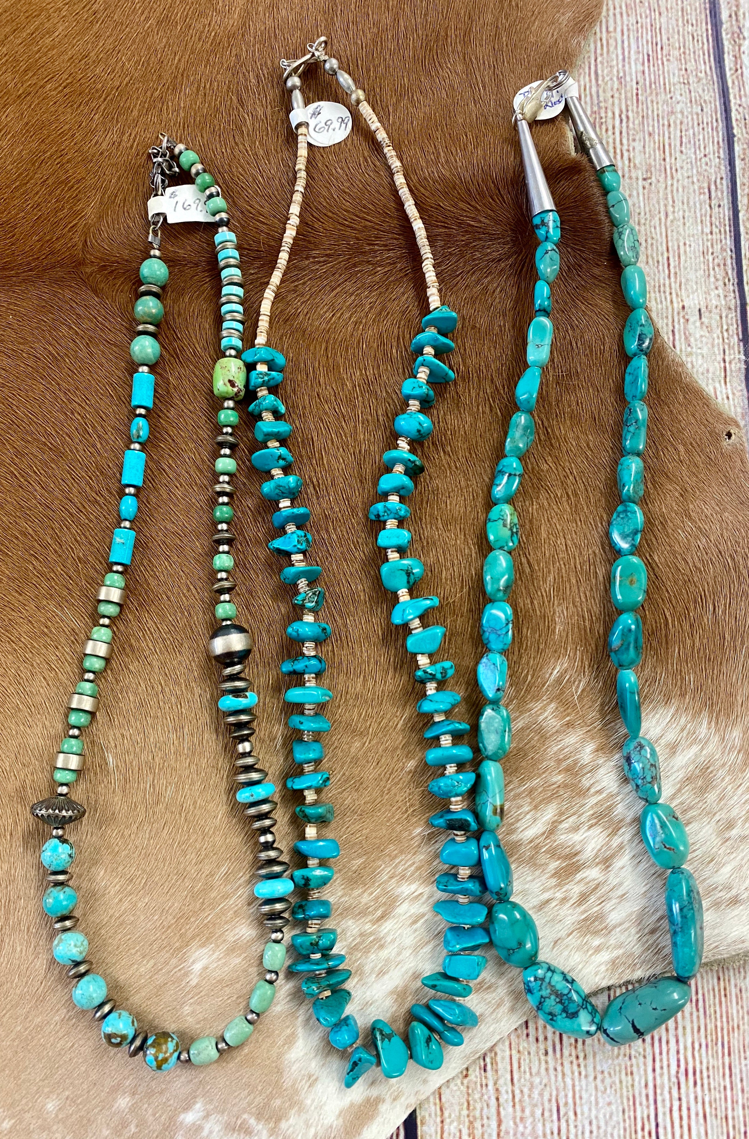 The Pampa Turquoise Necklace - Ny Texas Style Boutique