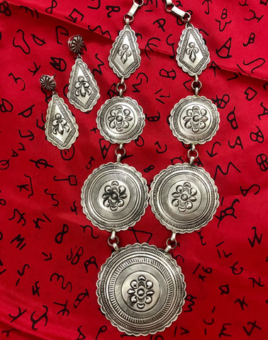 The Virgil Earp Necklace & Earring Set - Ny Texas Style Boutique