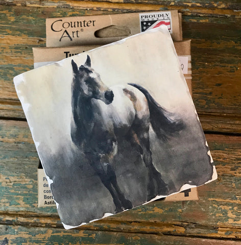 Set of 4 Horse Coasters - Ny Texas Style Boutique