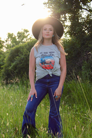 On The Road Again Tank - Ny Texas Style Boutique