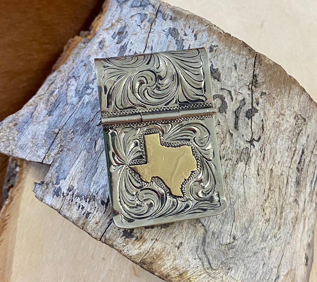 The Texas Rodeo Large Money Clip - Ny Texas Style Boutique