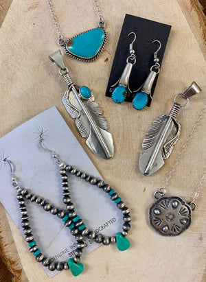 The Goodluck Navajo Concho Necklace - Ny Texas Style Boutique