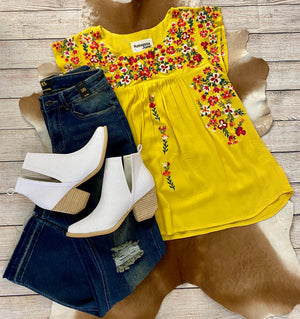 The Lemon Drop Top - Ny Texas Style Boutique