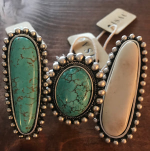 The Ramblin' Mama Ring (Turquoise) - Ny Texas Style Boutique