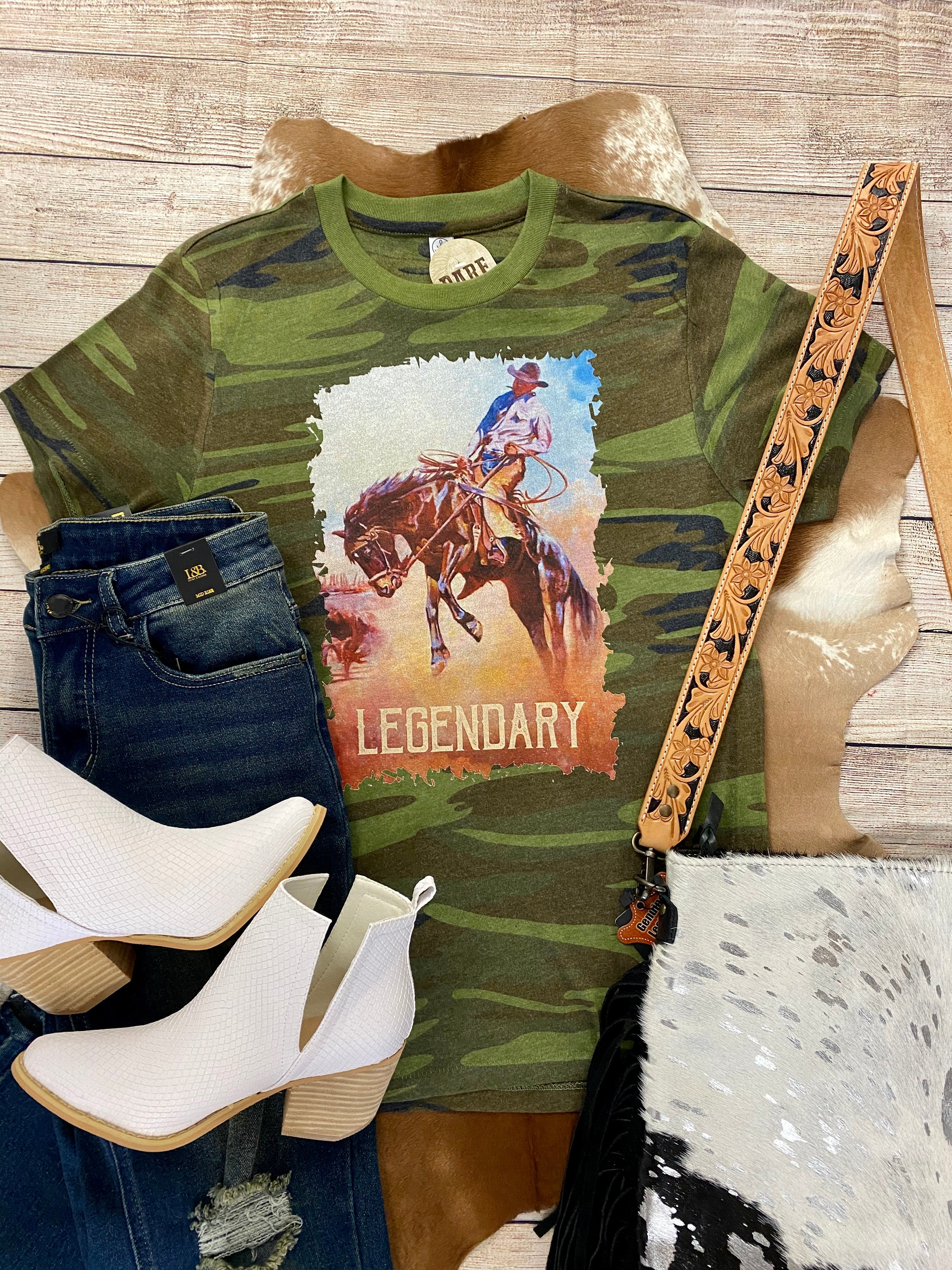 The Legendary Tee - Ny Texas Style Boutique