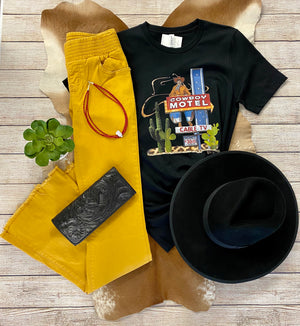 The Stevie Jeans (Mustard Wash) - Ny Texas Style Boutique