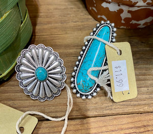 The Ramblin' Mama Ring (Turquoise)
