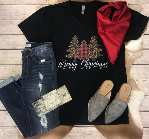 Christmas Tree Tee - Ny Texas Style Boutique