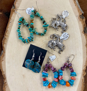 The Tomahawk Earrings - Ny Texas Style Boutique