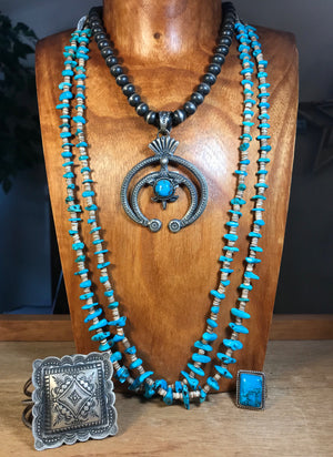 The Dwight 8mm Navajo Pearl Necklace - Ny Texas Style Boutique