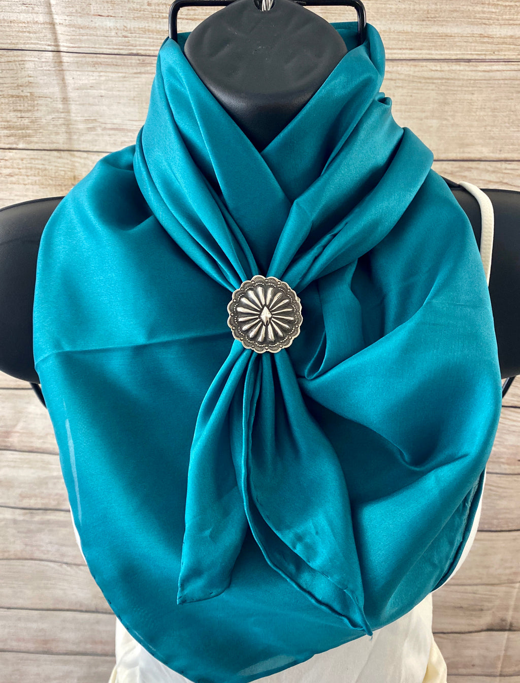 The Teal Wild Rag - Ny Texas Style Boutique