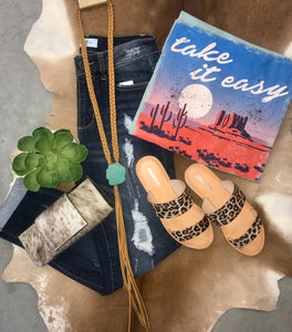 Take It Easy Tee - Ny Texas Style Boutique