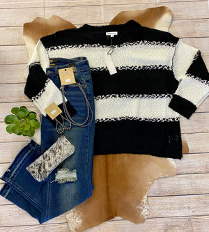 The Crazy On You Sweater - Ny Texas Style Boutique