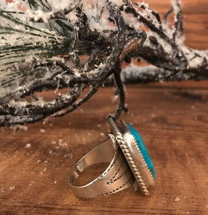 The Kay Turquoise Ring - Ny Texas Style Boutique