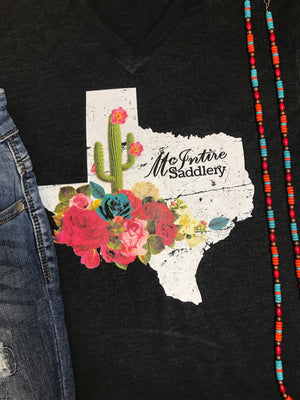 The Saddlery Tee - Ny Texas Style Boutique