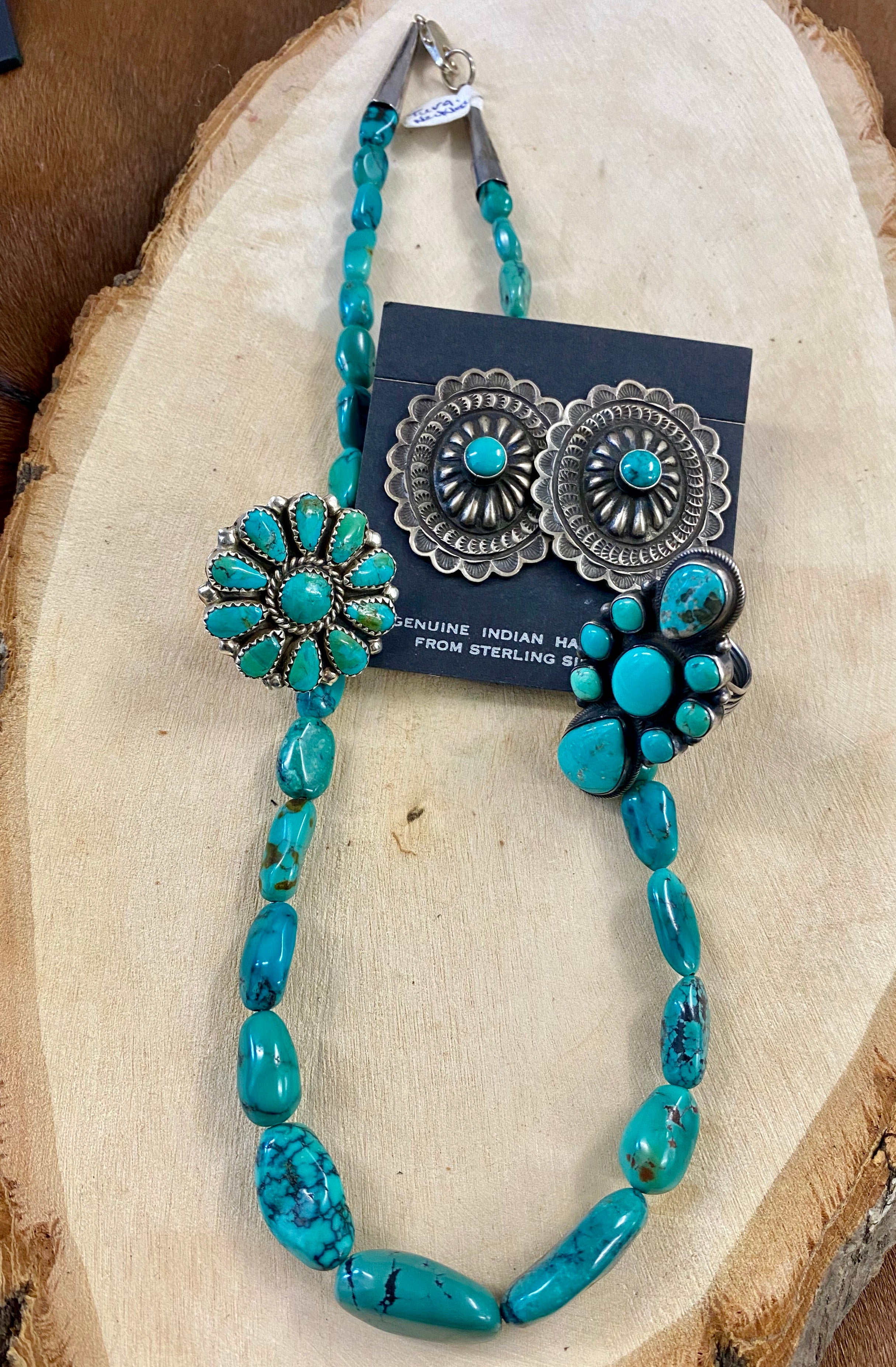 The Harper Valley Concho Earrings - Ny Texas Style Boutique