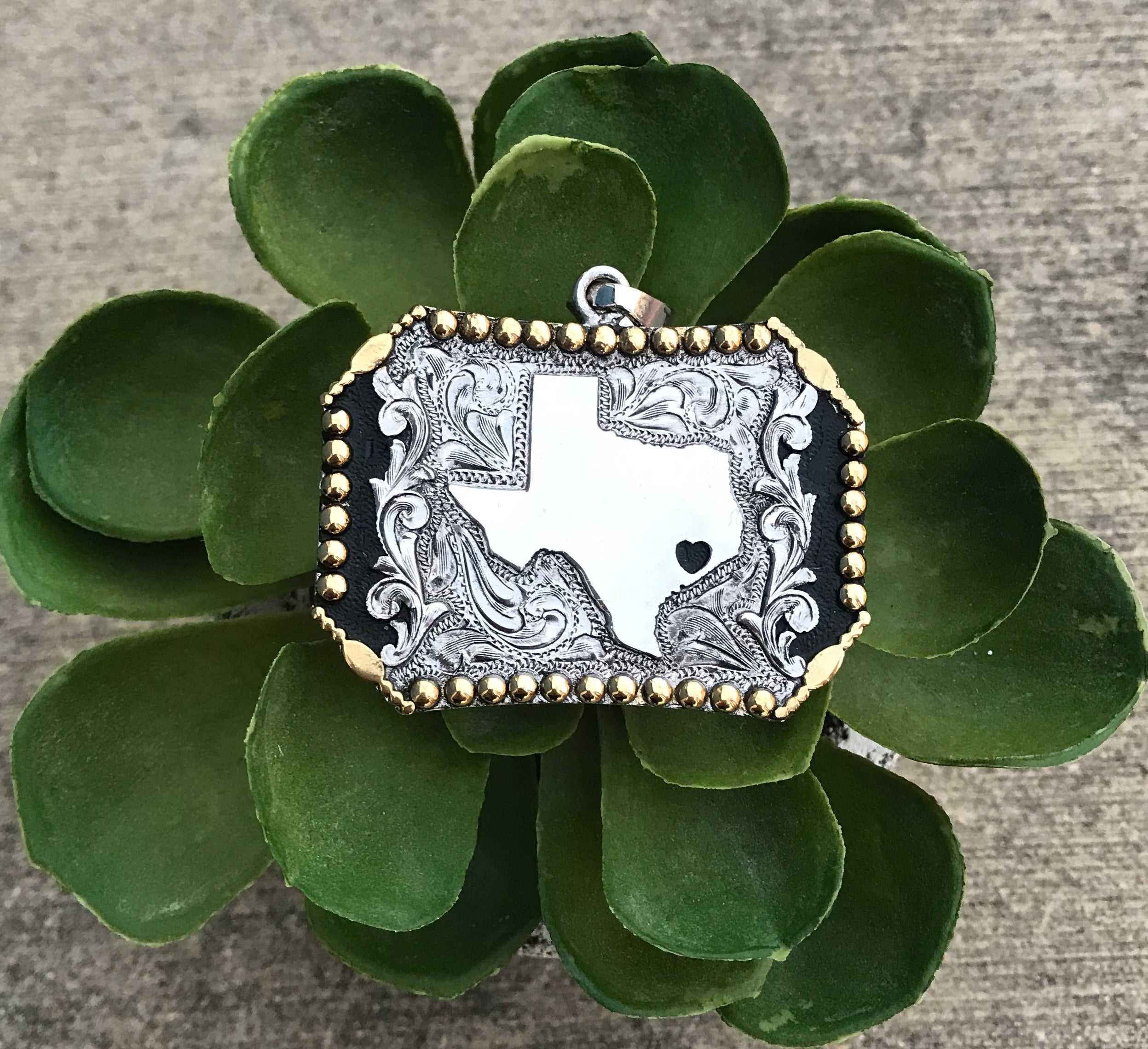 The Deep In The Heart Of Texas Pendant - Ny Texas Style Boutique