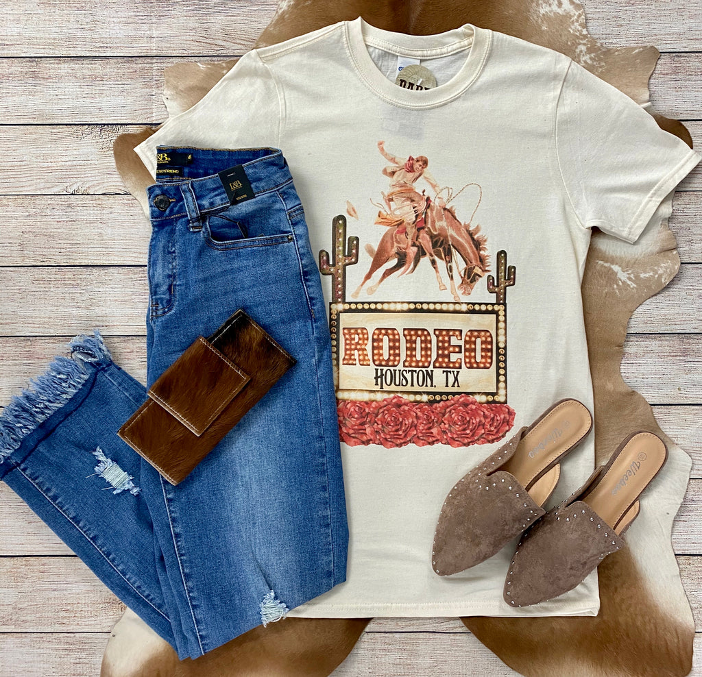 The Houston Rodeo Tee - Ny Texas Style Boutique