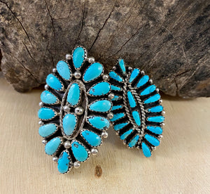 The Señorita Turquoise Cluster Ring - Ny Texas Style Boutique