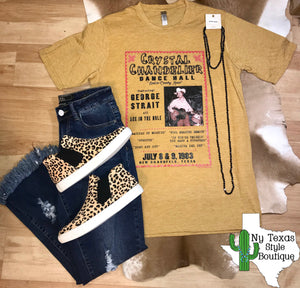 George Strait Tee - Ny Texas Style Boutique