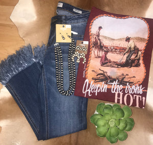 Keepin' The Irons Hot! Tee - Ny Texas Style Boutique
