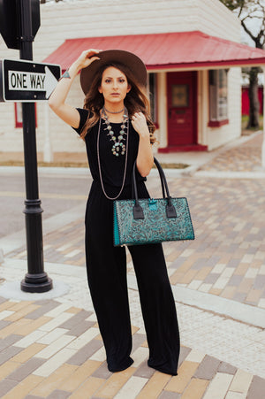 The Wyatt Turquoise Squash Blossom - Ny Texas Style Boutique