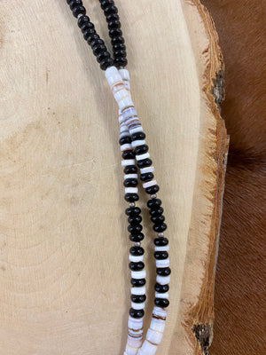 The Two Strand Onyx Necklace - Ny Texas Style Boutique