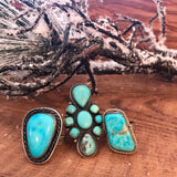 The Merle Turquoise Ring - Ny Texas Style Boutique