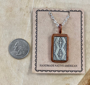 The Cañoncito Band of Navajo Pendant - Ny Texas Style Boutique