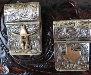 The Houston Rodeo Large Money Clip - Ny Texas Style Boutique
