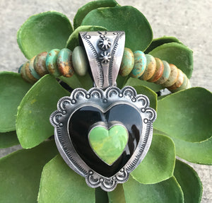 The Queen Of Hearts Pendant - Ny Texas Style Boutique