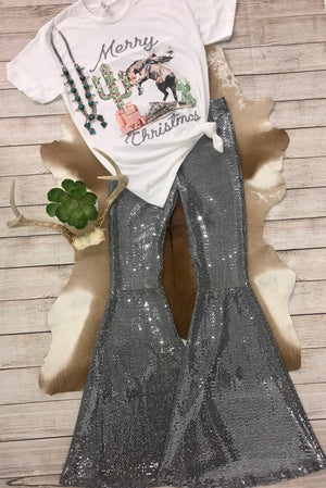 The Wild West Christmas Tee - Ny Texas Style Boutique