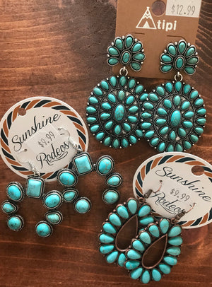 The Star Of The Show Earrings - Ny Texas Style Boutique